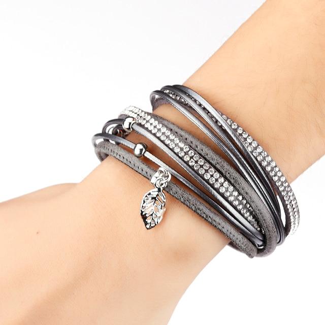 Bracelet Strass Tissu