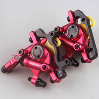 ZOOM MTB Road Line Pulling Hydraulic Disc Brake Calipers Front Rear