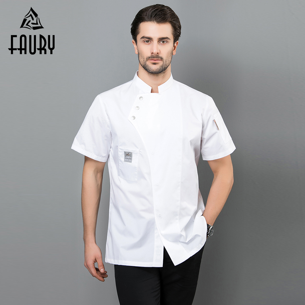 Professional Chef Restaurant Uniform Kitchen Work Clothing Tops Cooking Jacket Master Chef Waiter Cuisine Overalls High Quality