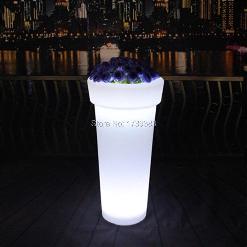 X-POT H96 High Tower Round LED Flower Pot (2)