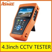 Portable IPC-4300 4.3″ Touch Screen Onvif IP Analog Camera CCTV Tester from asmile