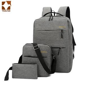 Image 2 - Mochila masculina 배낭 세트 3 개/대 남성 숄더 백 청소년 남성 학생 도서 가방