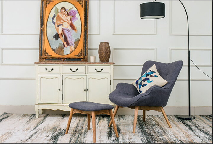 mitte des jahrhunderts moderne kontur stuhl whocker wohnzimmer mbel gedmpften stoff sessel chaiselongue stoff akzent stuhl in mitte des jahrhunderts - Mitte Des Jahrhunderts Modernes Wohnzimmer