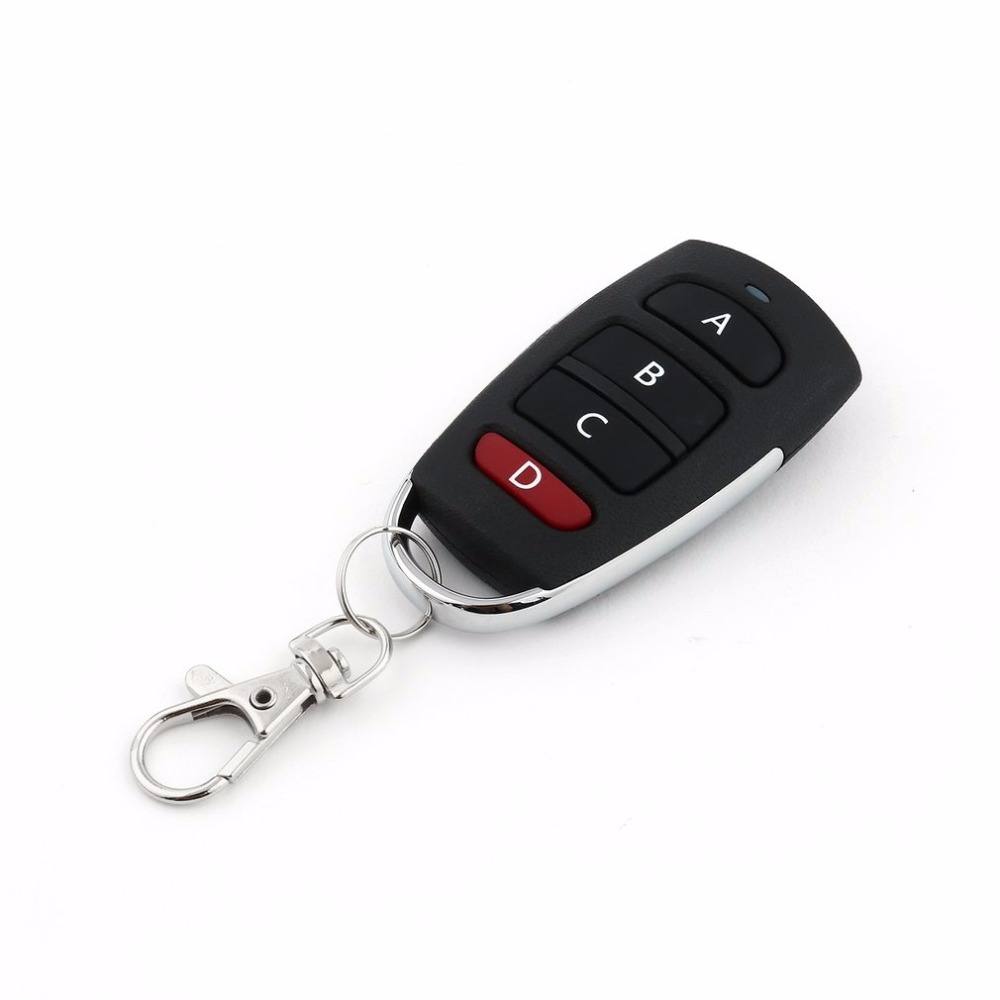 Universal Wireless Remote Control Key 4 Buttons 433MHz ...