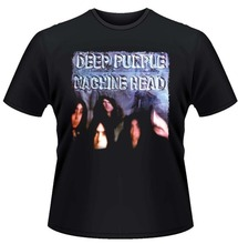 Unique Graphic Tees Office Deep Purple Machine Head O-Neck Short-Sleeve Mens Tee