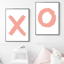 Space Art XO Correctly Beautifies Wall Paintings, Ink Posters and Decorative Nordic Restaurant Bedroom