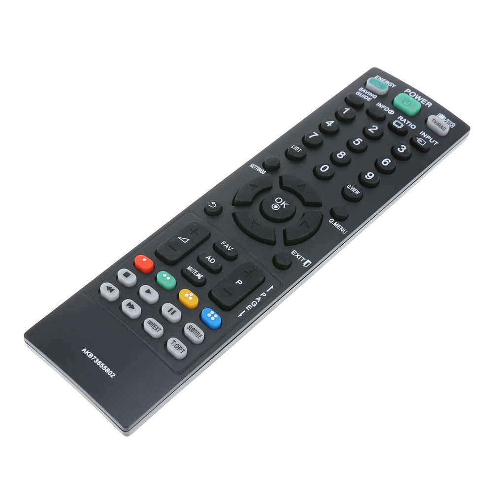 Universal Television Remote Control Replacement TV Remote Control Unit All  Functions Black for LG AKB73655802