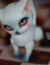 flash sale!free shipping!free body makeup&eyes!top quality bjd 1/8 baby doll fancy pet mini cat Lucy aileen cute hot toy