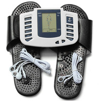 Electrical Stimulator Muscle Massager Slipper Electrode Pads Body Relax Pulse Tens Therapy Digital Machine For Foot
