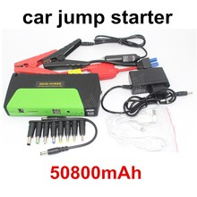 Car jump starter  High quality 50800 mAh Car Jump Starter multi-functional  AUTO emergency start power bank free shipping