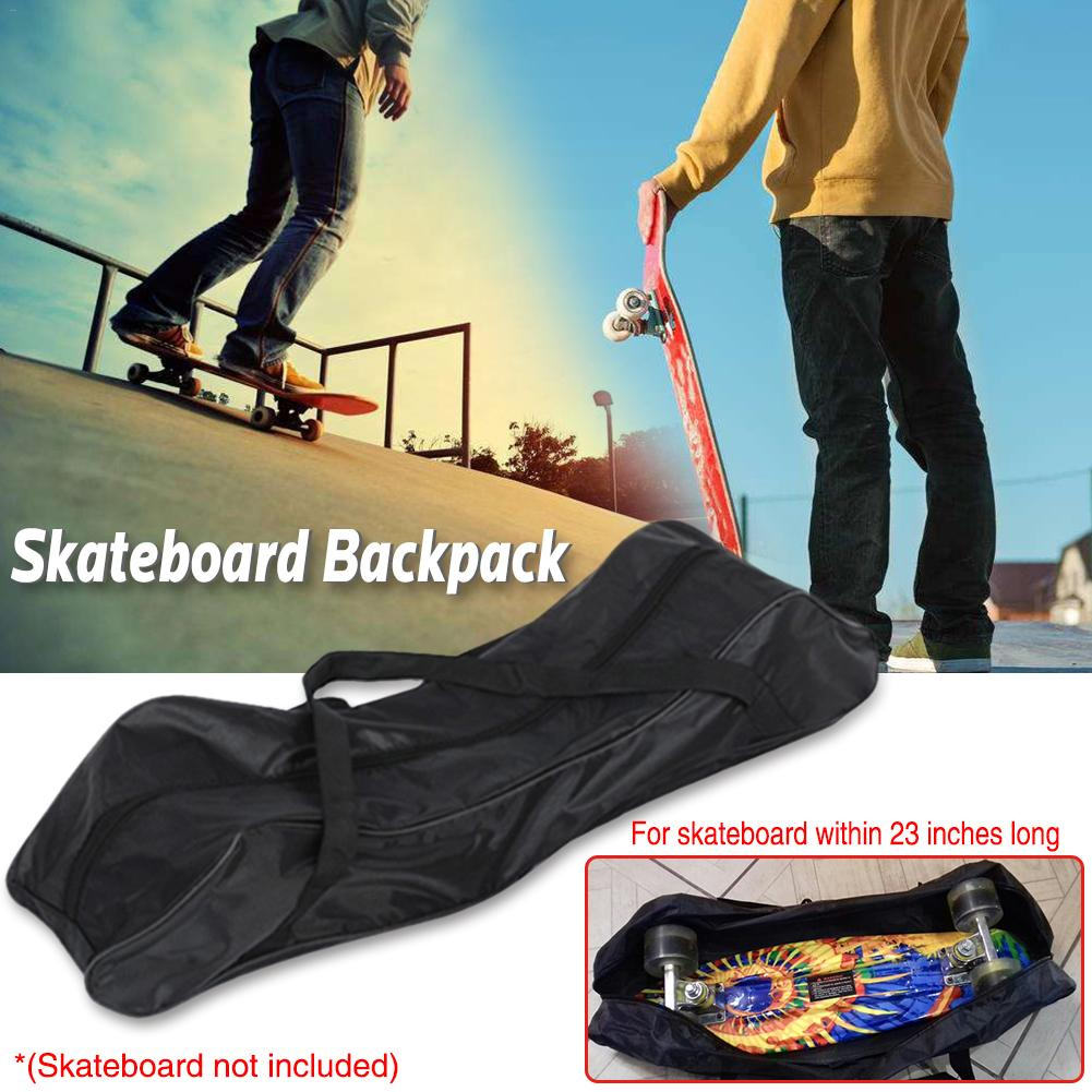 Fish Skateboard Bag Banana Plate Backpack Plastic Skateboard Street Board Four-wheel Skateboard Accessories Board Backpack