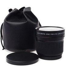 Lightdow 52mm 0.21X Fisheye Lens for Nikon D700 D300 D200 D90 D70  D3000 D3100 D3200 D5000 D5100 D5200 with 18-55mm Lens
