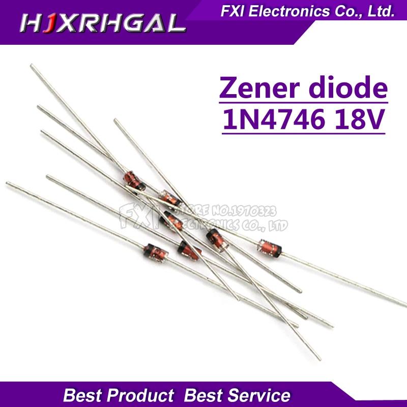 20pcs 1N4746A 1N4746 Zener Diode 18 Volt 1 Watt 5/% New