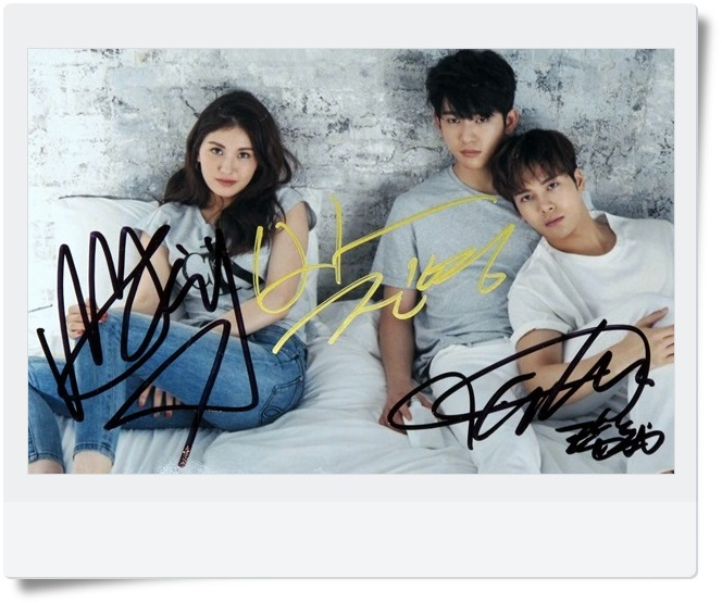 Signed GOT7 GOT 7 JACKSON JR SOMI Autographed  photo  4*6 free shipping  K-POP 062017 got7 got 7 jb autographed signed photo flight log arrival 6 inches new korean freeshipping 03 2017
