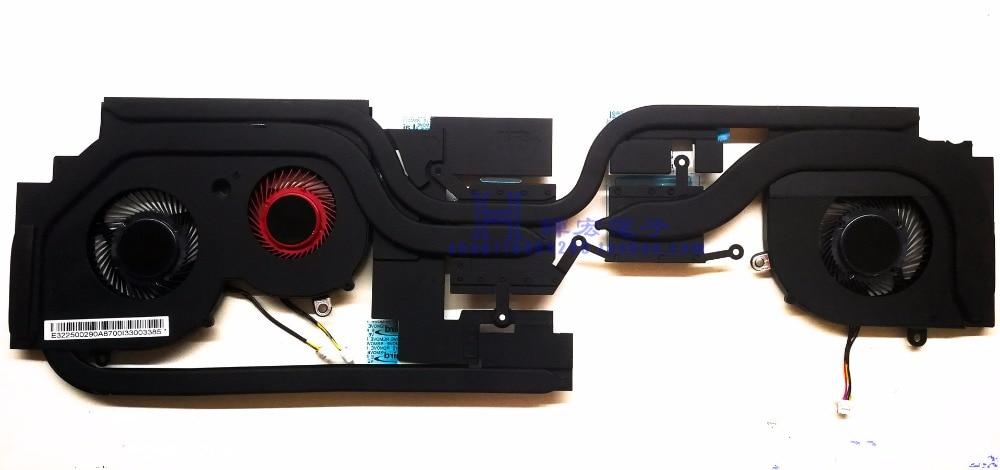 NEW original for MSI GS65 GS65VR CPU +GPU FAN & COOLING HEATSINK new original for clevo p870dm g gpu heatsink 6 31 p870n 202