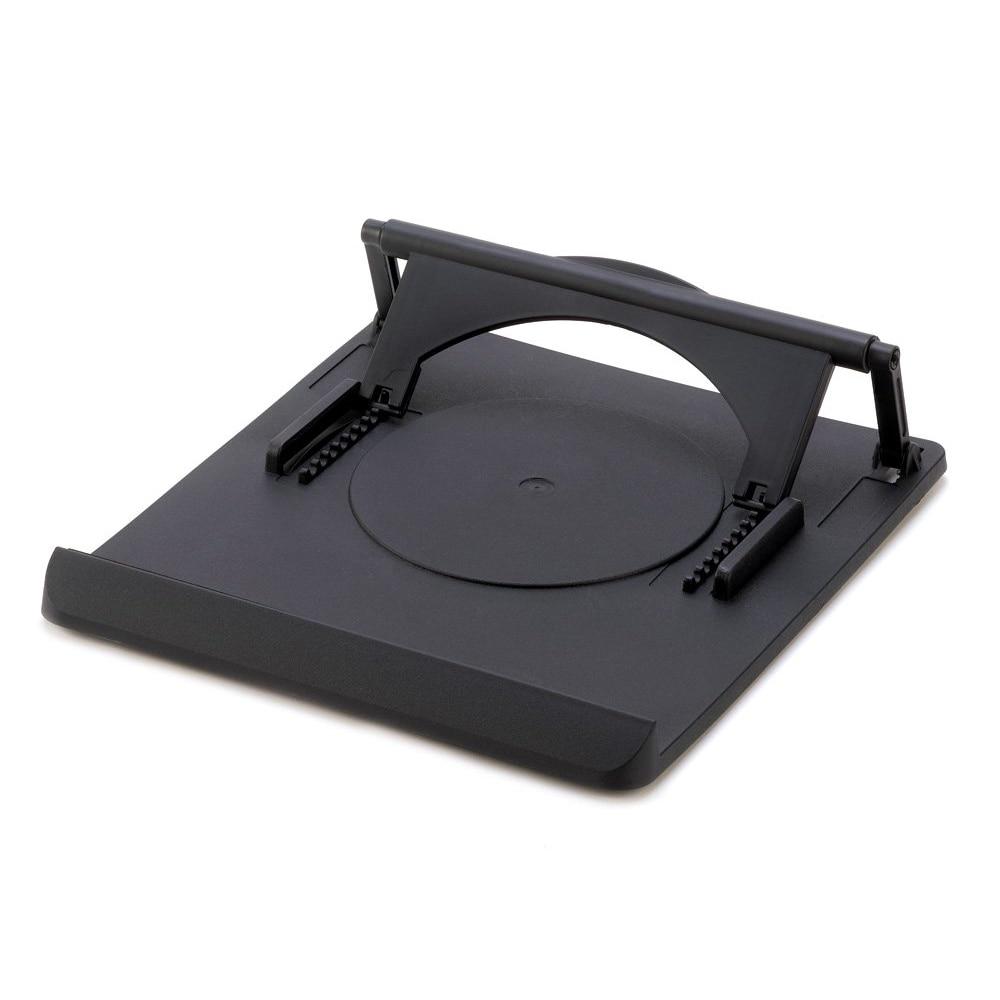 2 pcs/lot Universal Portable Laptop Desk Swival Stand Cooling Pad