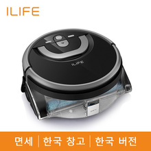 ILIFE New W400 Floor Washing Robot Voice Assistance Navigation Large Water Tank Kitchen Cleaning Planned Cleaning