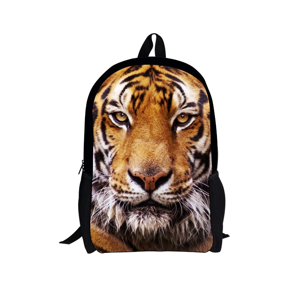 Mochila Cool Tiger Head School font b Backpack b font font b Kids b font Children