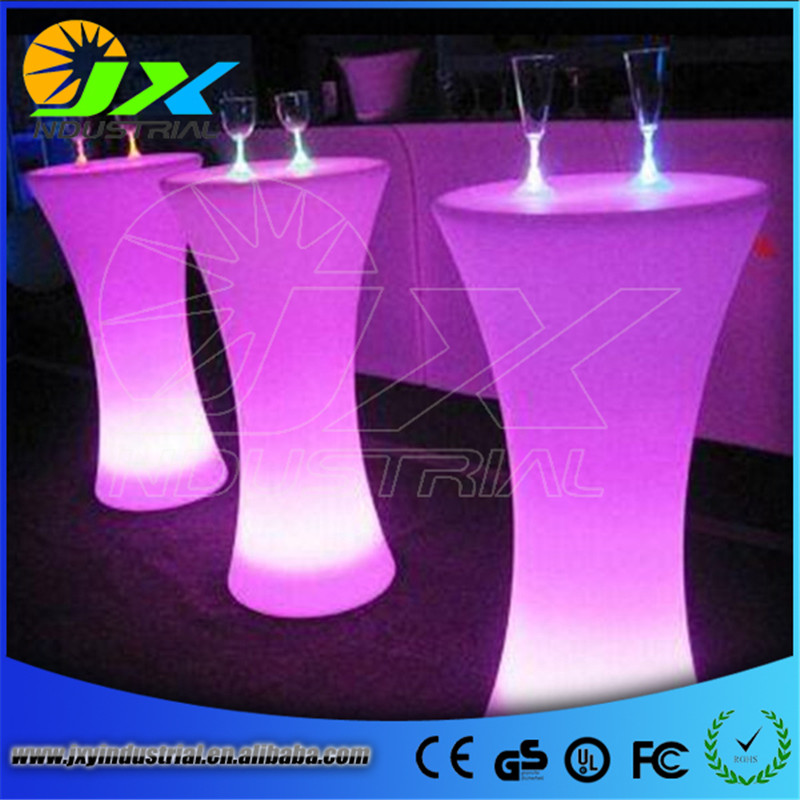 Rechargeable LED Illuminated Cocktail Table Waterproof Glowing Led Bar  Table Lighted Up Coffee Table Bar KTV Disco Party Supply In Holiday  Lighting From ...