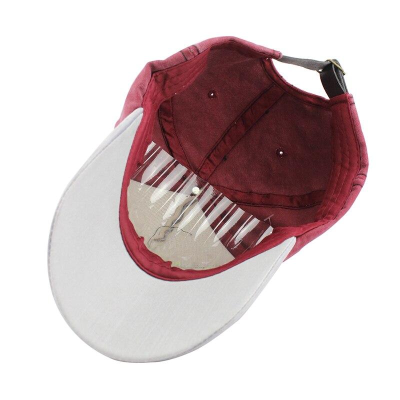 [FLB] Yeni Pamuk Beyzbol Şapkası Koşu Monte Mektubu Spnapback Yaz - Elbise aksesuarları - Fotoğraf 5