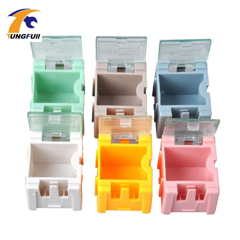 rychlá dodávka 50ks SMD SMT komponenty skladovací krabice - Sady nástrojů - Fotografie 6