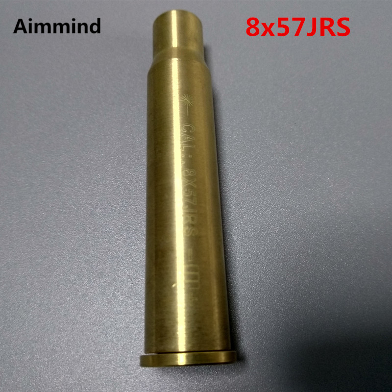 Tactical CAL 8x57 JS Cartridge Red Dot Laser Sight Gun Bore Sighter Boresighter