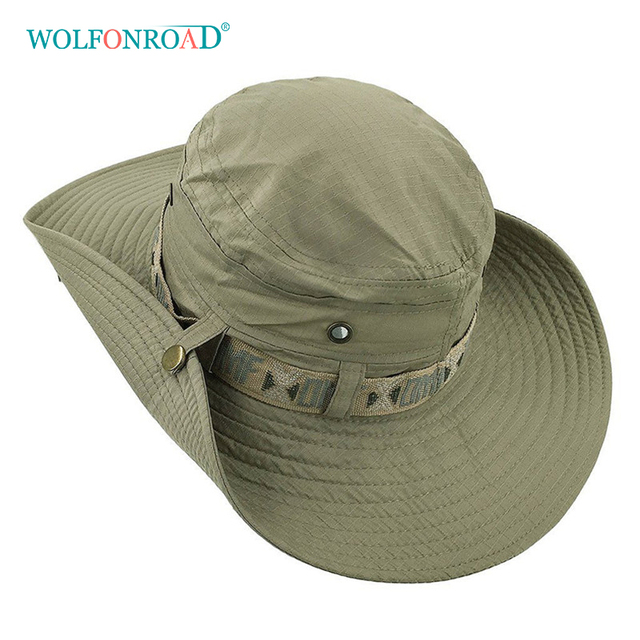 Army Men Tactical Sniper Hats Sun Boonie Hat Summer Sun Protective Cap Men's Military Fishing Cap Hunt Hat