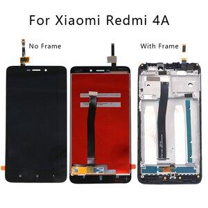 Image 1 - Para Xiaomi Redmi 4A pantalla LCD digitalizador de pantalla para Xiaomi Redmi 4A accesorios de reparación de componentes de Smartphone + envío gratis