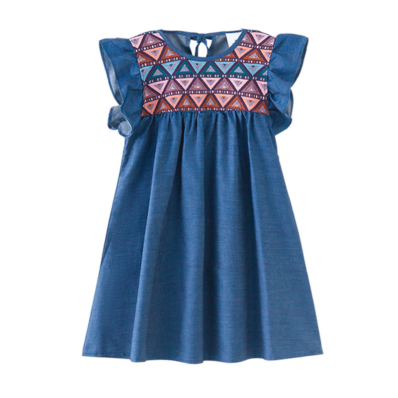 4 to 12 years kids & teenager big girls geoemtric print petal sleeve cotton casual flare dress children princess blue dresses 96w 9000lm off road led light bar spot flood beam combo for toyota bmw jeep cabin boat suv truck car atv fog lights