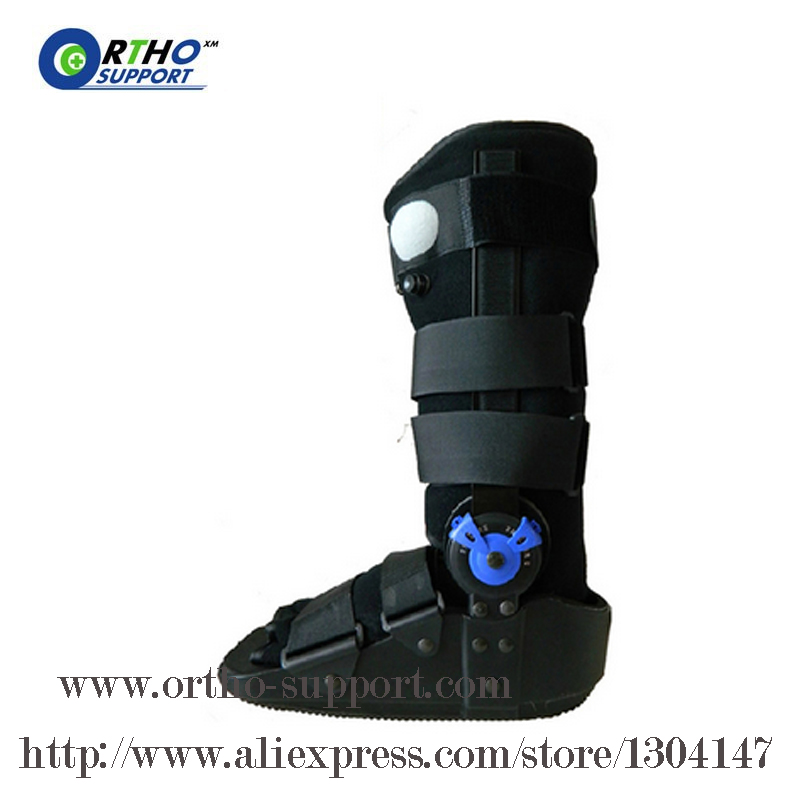 ROM Walker 17 Inch Ankle Sprain Fracture Injury Walking Boots Plantar Fasciitis Premium Airliner Walker and ROM Pneumatic Walker