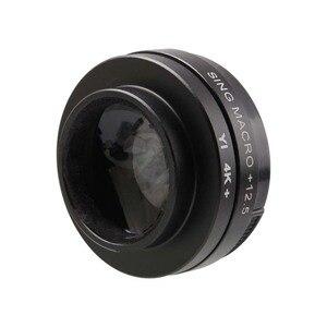 Image 5 - CAENBOO Super Macro Close Up Lens Filters Voor XiaoMi Yi 4 K/II/Lite/+ Plus 12.5X Filter Sport Action Camera Yi 4 K + CCTV 37mm Cap