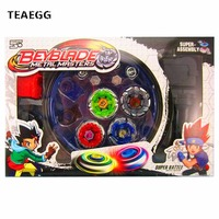 4pcs Set Beyblade Arena Spinning Top Metal Fight Beyblade Burst Metal Fusion Children Gifts Classic Toys