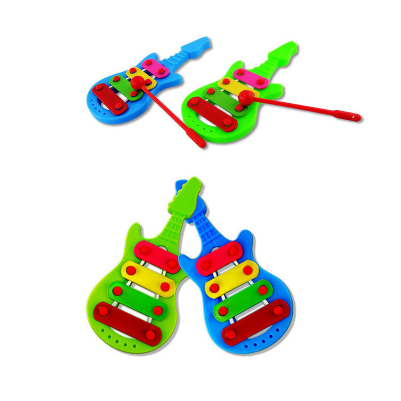 2017 Baby Child Kid 4-Note Xylophone Musical Toys Wisdom DevelopmentSerinette Dropship Y798