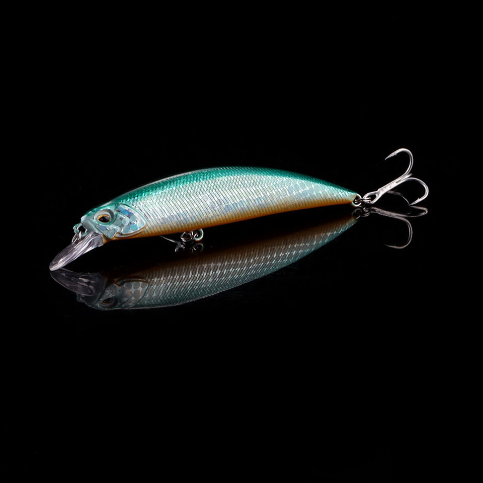 WALK FISH 1PCS 3D Eyes Fishing Lure 105mm 15.9g Sinking Minnow Wobbler Hard Lure Bass Pike peche isca artificial Bait Tackle