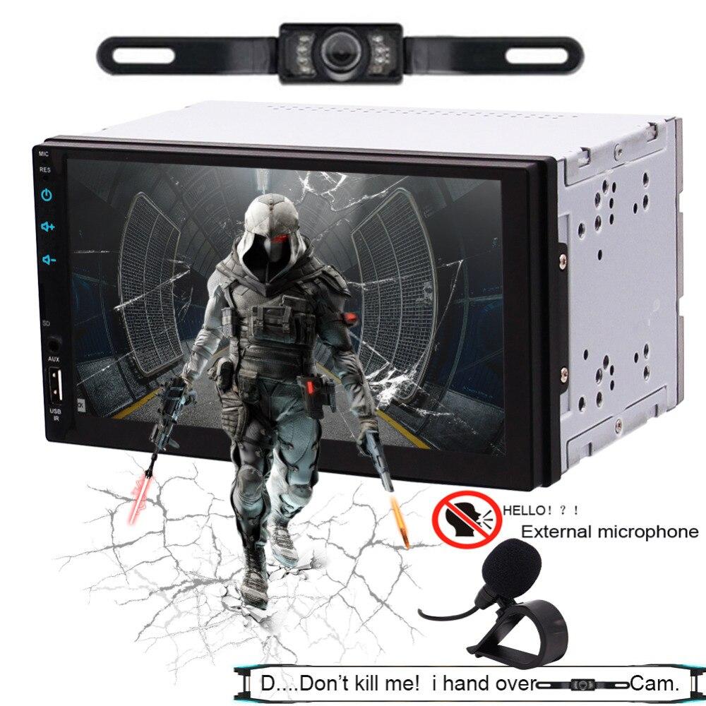 Car Multimedia Player GPS Navigation GPS Sat Navigation Bluetooth 4.0 Autoradio SD USB WIFI AUX Support 3G 4G FMAM Radio SWC