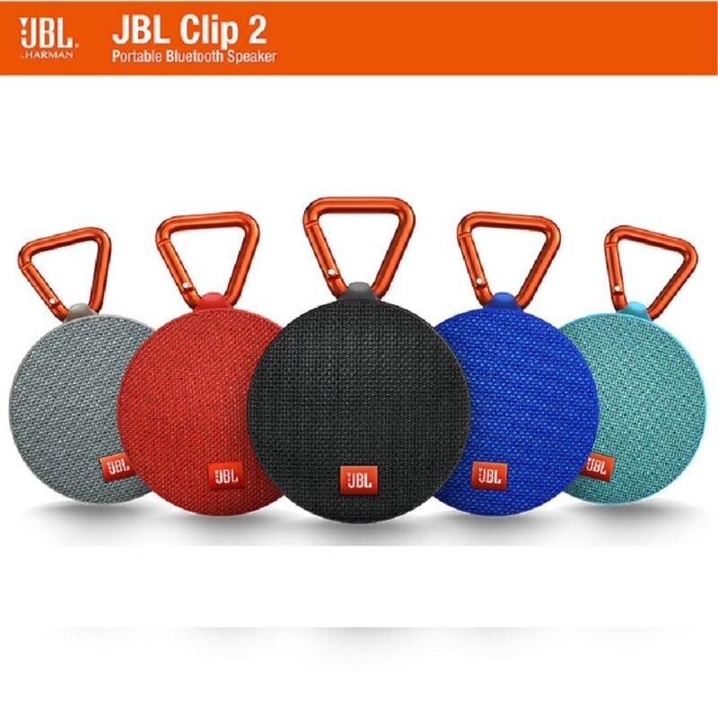 JBL Clip2 Music Box 2 Bluetooth Portable Audio Outdoor Mini Speaker IPX7 Waterproof