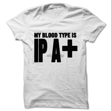 """""""My Blood Type Is IPA+"""" girlie / women's shirt / 8 Colors"""