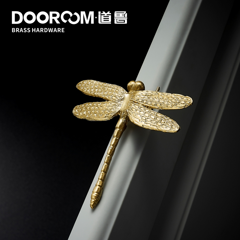Dooroom Brass Dragonfly Furniture…