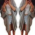 Snowshine #3065 Женщин Lady Повседневная Вязать Рукав Свитер Пальто Кардиган Куртки бесплатная доставка