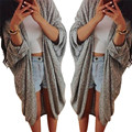 snowshine #3065 Womens Lady Casual Knit Sleeve Sweater Coat Cardigan Jacket free shipping