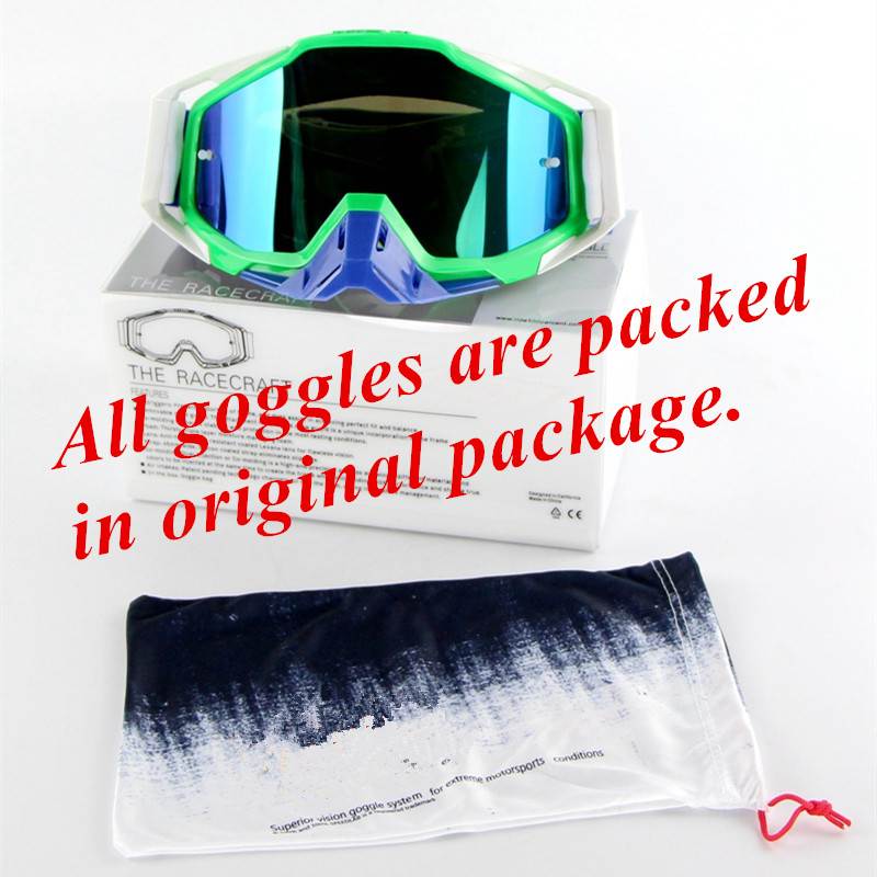 Image 5 - LY 100 Brand Motocross Goggles ATV Casque Motorcycle Glasses Racing Moto Bike Cycling CS Gafas Sunglasses Original Package-in Motorcycle Glasses from Automobiles & Motorcycles