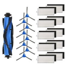 Piezas de repuesto para Eufy Robovac 11S Robovac 30 Robovac 30C Robovac 15C Robovac 12 Robovac 35C accesorios (10 filtros + 8 S