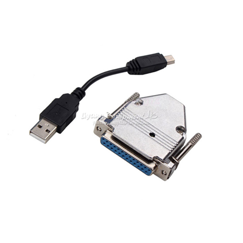 USB To Parallel Adapter USB CNC Router Controller For MACH3 LY-USB100 UC100