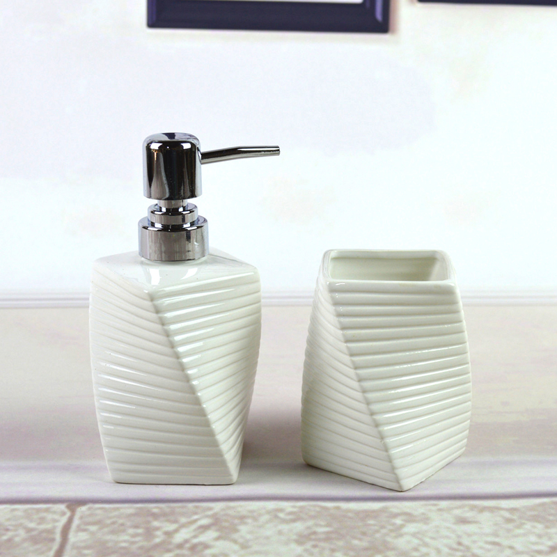ceramic handwash bottle mouthwash bath two piece bathroom accessories kits mouthwash presses bottles bottles specials