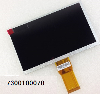 7300100070 7 Inch Tablet LCD Screen 165MM*100MM*3MM Free Shipping