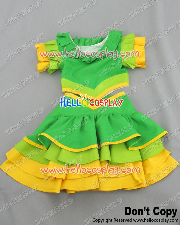 Suite PreCure Cosplay Cure Melody Hibiki Hojo Costume H008