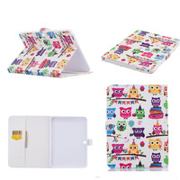 HX Protective Butterfly OWI Tower Flip PU Leather Case For Samsung Galaxy Tab 4 10 1