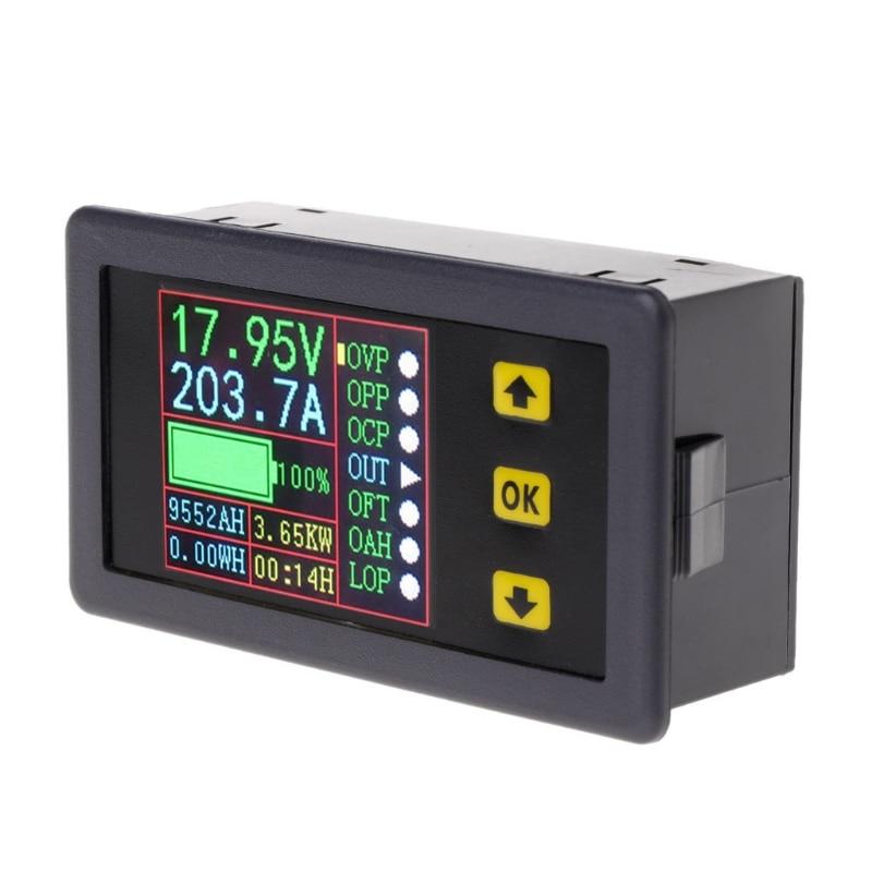 Image 5 - Digital Multimeter Charge Discharge Battery Tester DC 0 90V 0 20A Volt Amp Meter #Aug.26Battery Testers   -