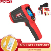 UNI T UTi80 2 million pixels, 0.5~25 meters measurable Infrared Thermal Imaging Thermometer/Dual Laser Point /Range 30C to 400C