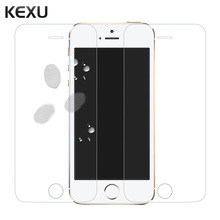 KEXU For iPhone 5s SE Glass Ultra Thin HD Protective Film Screen Protector for iPhone 5s Tempered Glass for Apple iPhone 5 5c SE